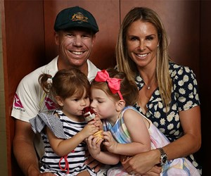 Candice and David Warner reveal the gender of their third child