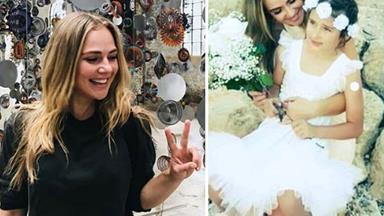 "Actress Jessica Marais' heartfelt tribute to the year ahead: ""God is everywhere!"""