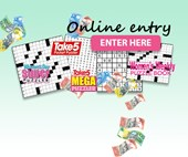 CLICK HERE for all puzzle magazine online entry!