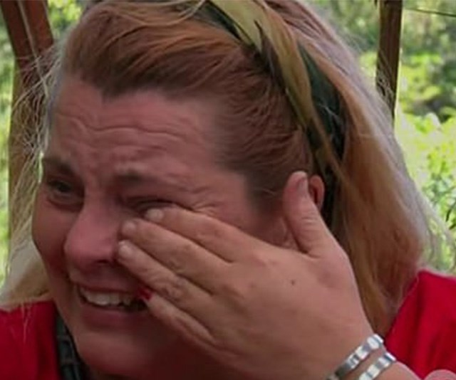 Ajay Rochester is the first I'm A Celebrity elimination and her reaction is extreme