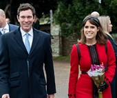 Princess Eugenie shares a throwback photo to mark a year since her royal engagement