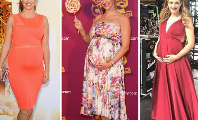 Actress Penny McNamee's cutest baby bump moments