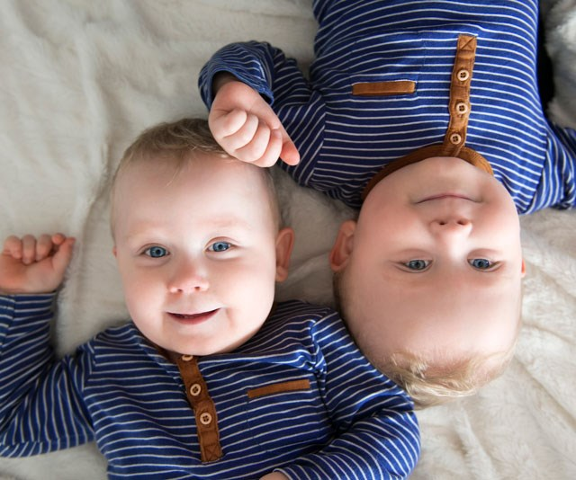 Double the joy: IVF can also increase your chances of twins. *(Image: Getty)*
