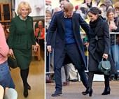 Did Duchess Camilla just borrow something from Duchess Meghan's wardrobe?