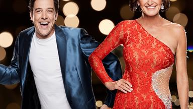 "Dancing With The Stars' Samuel Johnson reveals crush: ""Cassandra Thorburn is banging"""