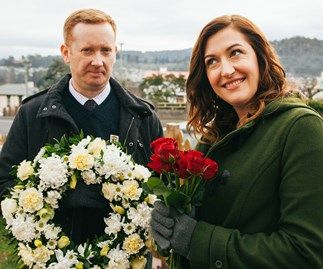 Celia Pacquola and Luke McGregor reveal their Rosehaven secrets