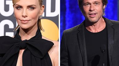 Brad Pitt and Charlize Theron: Yes! It's love