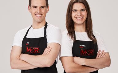 My Kitchen Rules Exclusive: Josh and Austin know they're set to ruffle some feathers