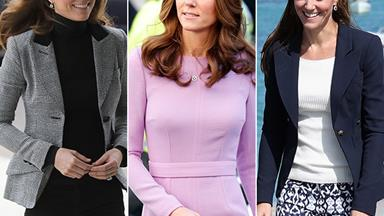 Duchess Catherine is the Queen of work wear fashion: Here's the proof