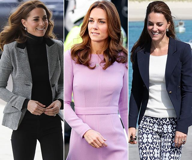 Kate Middleton work wear fashion