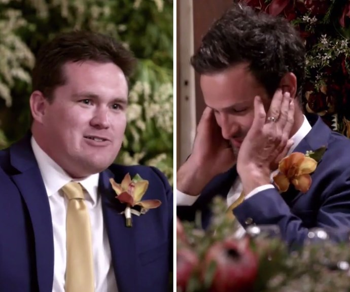 Married at First Sight just delivered the most inappropriate groomsman speech EVER