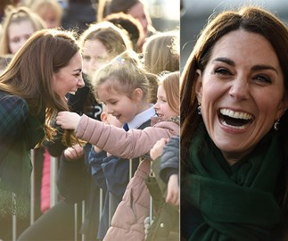 Duchess Catherine's hair just stole the show on a visit to Scotland in a very unexpected way