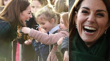 Duchess Catherine's hair just stole the show in the most unexpected way during a visit to Scotland