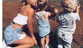 Meet 'fun mum' Tammy Hembrow's kids, Wolf and Saskia