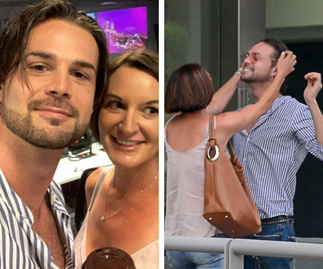 Cassandra Thorburn cosies up to hot 24-year-old dance partner on DWTS