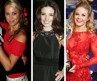 All the previous winners on Dancing With The Stars Australia