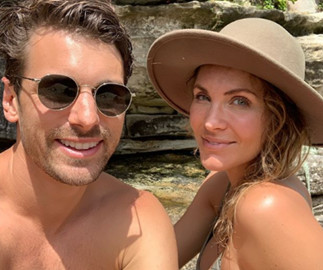 """""""World's most hormonal woman"""": The Bachelor's Laura Byrne's pregnancy hormones have her sobbing at MAFS"""