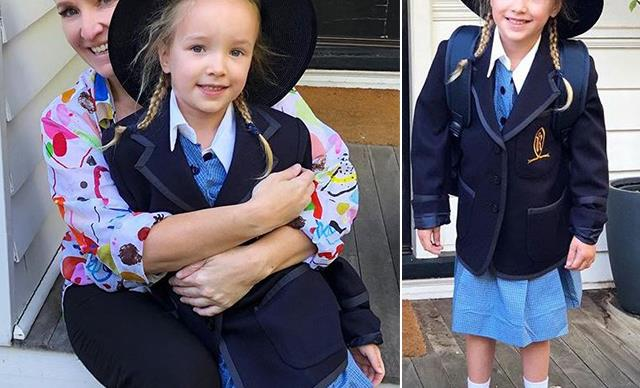 Fifi Box just got super emotional about her daughter's first day of school and it's oh so relatable