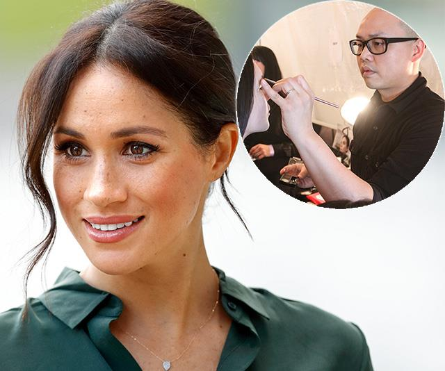 Meghan Markle's makeup artist just revealed how she gets that glowing skin and it's SUPER easy