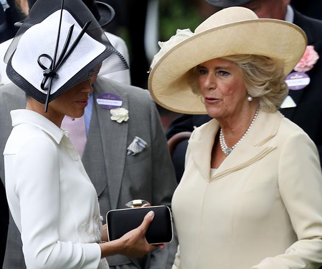 Camilla is determined to make Meghan her latest project. *(Image: Getty Images)*