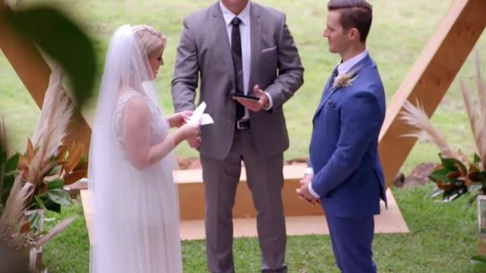 All the best Twitter reactions to Lauren and Matt's EPIC wedding on Married at First Sight