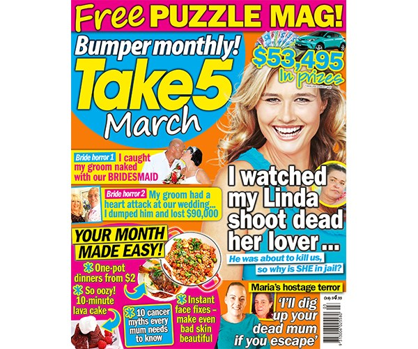 Take 5 Bumper Monthly March Issue