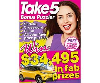Take 5 Bonus Puzzler March Issue