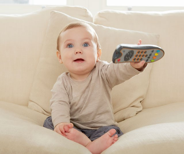 Baby TV time: How much TV is healthy for babies?