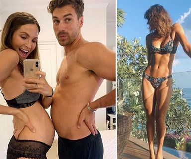 Laura Byrne's approach to pregnancy fitness will have you cheering