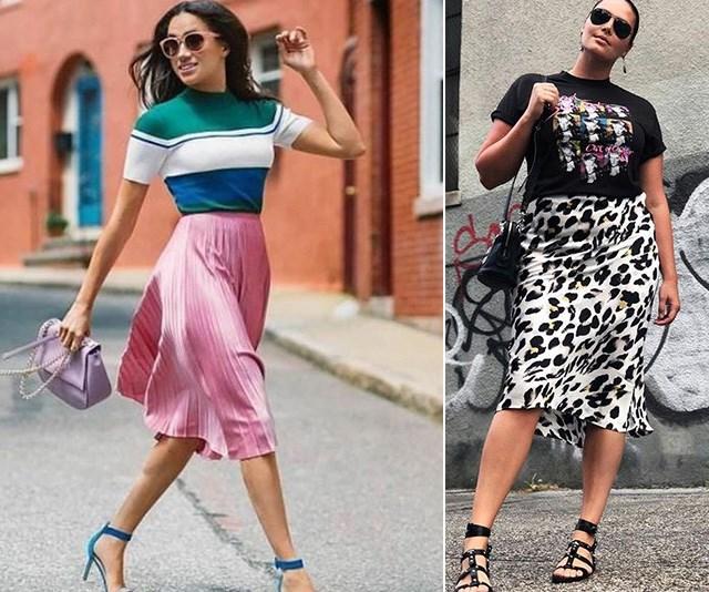 This season's statement skirt will flatter EVERY body shape - here's how