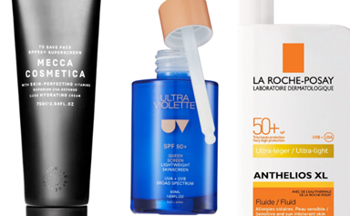 SPF meets skincare with these luxe sunscreens perfectly formulated to fit into your beauty routine
