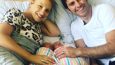 Dancing with the Stars' Jimmy Rees and wife, Tori welcome twins Mack and Vinny