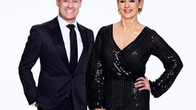 DWTS hosts Grant Denyer and Amanda Keller have first-hand advice for new contestants
