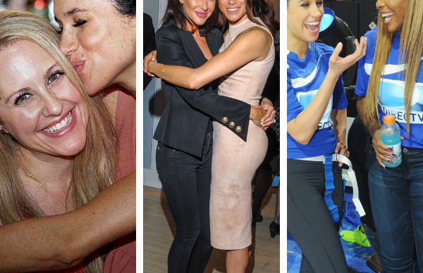 Who were Meghan Markle's anonymous friends coming to her defence?