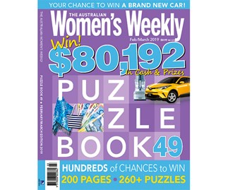 The Australian Women's Weekly Puzzle Book Issue 49