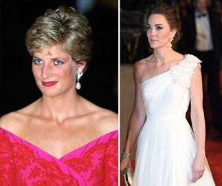 Princess Diana, Duchess Catherine