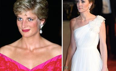 Duchess Catherine just paid tribute to Princess Diana at the BAFTA Awards in the most touching way