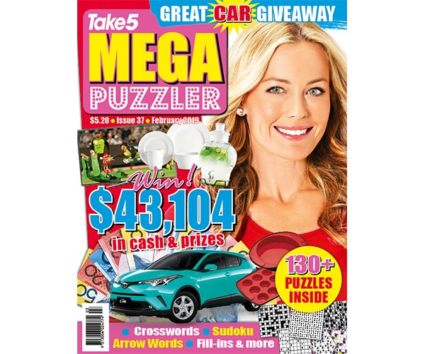 Mega Puzzler Issue 37 Coupon