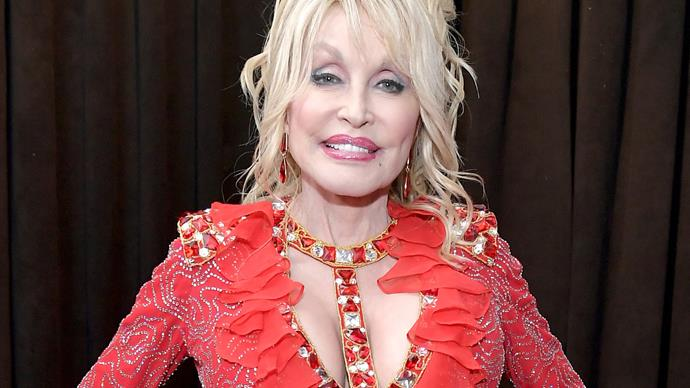 Dolly Parton's jaw-dropping outfit for the 2019 Grammy Awards red carpet