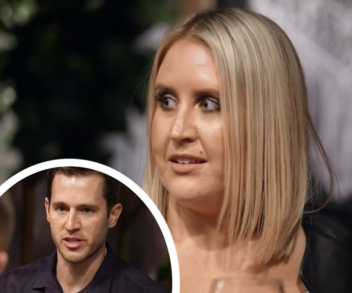 """MAFS' Lauren fires back at Matthew: """"Did you just use me to lose your virginity?"""""""