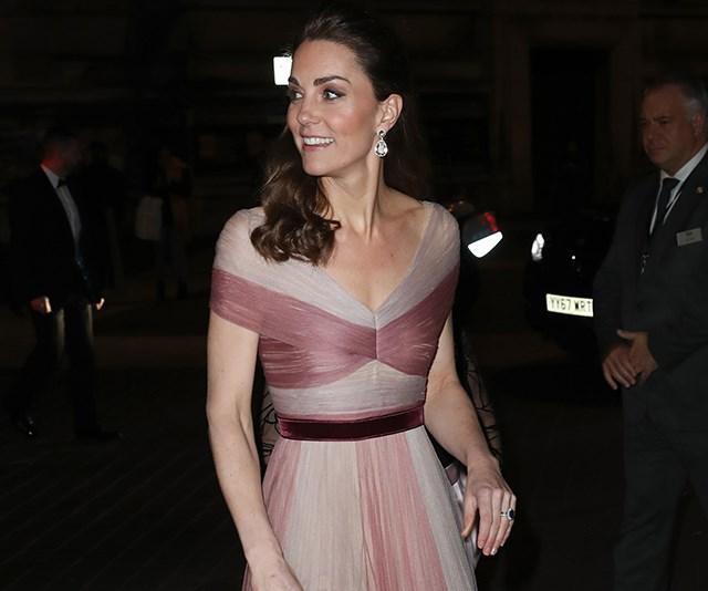 Kate Middleton gucci dress gala