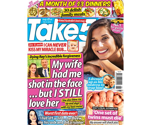 Take 5 Issue 8 Coupon - on sale now!