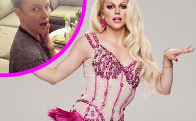 Courtney Act reveals she won't be rehearsing in drag on Dancing With The Stars