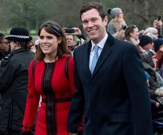 Princess Eugenie's special message to husband Jack Brooksbank