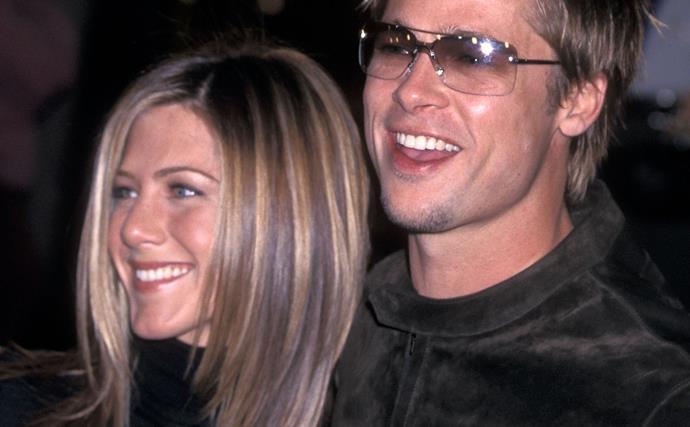 """Brad's heartfelt toast: """"I still love you, Jen!"""""""