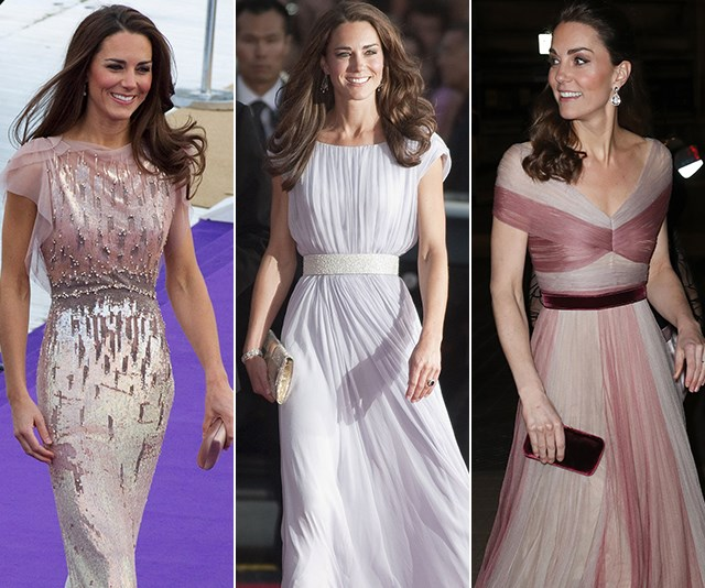 Fit for a princess: Duchess Catherine's best evening gowns of all time