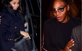 Girls' night! Meghan Markle hits NYC town for night out with Serena Williams