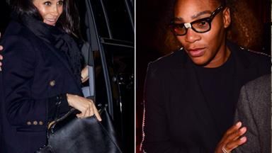 Serena Williams joins Duchess Meghan for a night out in New York City