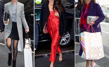Who are all the celebrity guests at Duchess Meghan's baby shower?