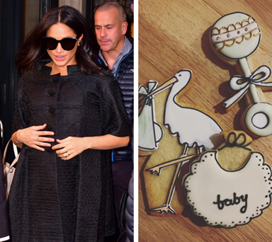 That's one lucky baby! Amazing new photos emerge from inside Duchess Meghan's lavish baby shower